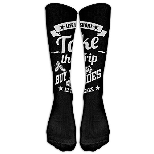Take A Trip Buy The Shoes 1 Pair Over-The-Calf Socks Cosplay Socks Knee High Lightweight Ribbed Dress Stockings