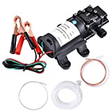Yescom 12V 5L Oil Fluid Liquid Diesel Fuel Extractor Transfer Suction Pump for Auto Car