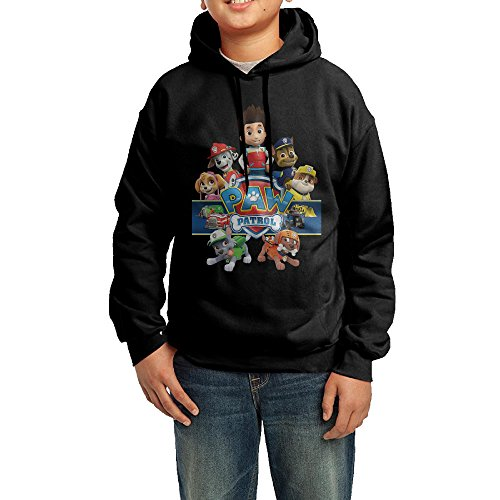 Youths Paw Patrol Animated Series 100  Cotton Hooded Sweashirt Large