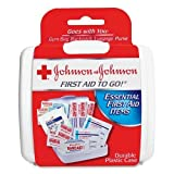 Johnson & Johnson First Aid To Go Mini First Aid Kit