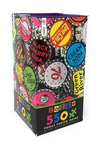 Ceaco Collage 550 Piece Jigsaw Puzzle Bottle Caps