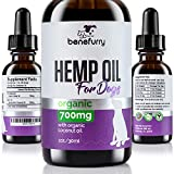 Hemp Oil For Pets By Benefurry | 700mg | Ultimate Pet Health Formula | Pet Anxiety, Hip & Joint Care, Overall Pet Health | USA Grown Hemp (For Dogs) Review