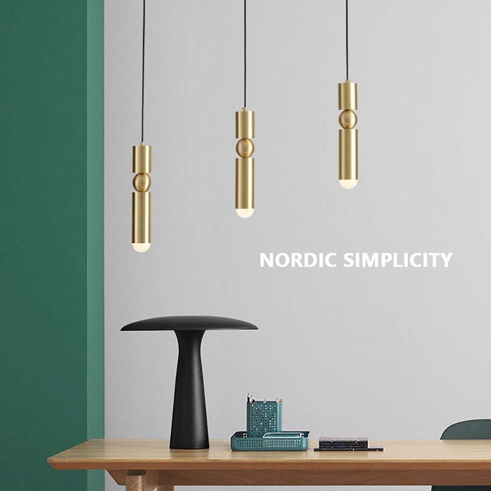 Amazon.com: CCSUN - Lámpara de techo con forma de cilindro ...