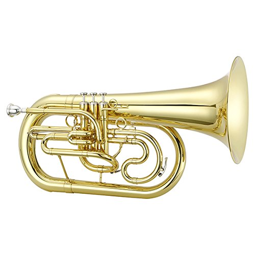 Jupiter JEP1100M Quantum Series Bb Marching Euphonium Lacquer by Jupiter