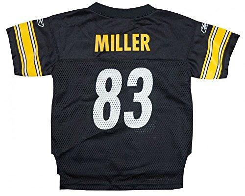 Replica Steelers Nfl Jersey - Heath Miller Pittsburgh Steelers Reebok NFL Toddler OnField Home Black Replica Jersey - 2T