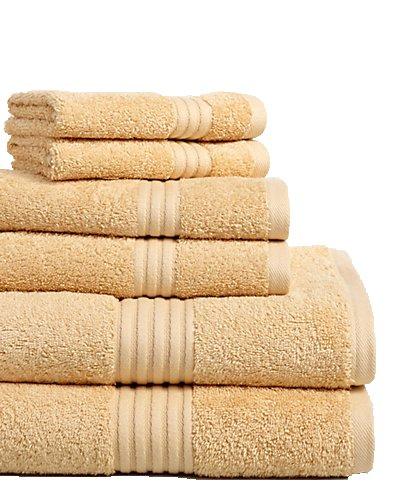 Chortex - Toallas (lino 6 piezas Juego de toallas, maíz: Amazon.es: Hogar
