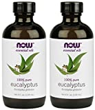 NOW Eucalyptus Essential Oil, 4-Ounce, 2 count Larger Image