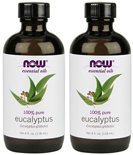 NOW Eucalyptus Essential Oil, 4-Ounce, 2 count ()