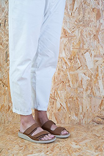 Woman KOI Wood Pleasant Sandals 40 Leather N5090 Velcro nxa7HwqqE