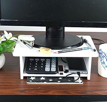 Zr Monitor Stand Erhöhung Regal Regal Schreibtisch Hals Basis Des