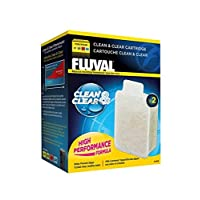 Fluval A499 Clean and Clear Internal U-Filter Cartridge, White
