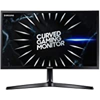 """Samsung 24"""" Gaming Curved Gaming Monitor with 144Hz Refresh Rate, 24, LC24RG50FQEXXY,Black"""
