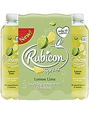 Rubicon - Agua de manantial con aroma a limón (12 x 500 ml)
