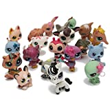 ELEGIANT The Littlest Pet Shop Cat Dog Animals Random Figures Gift For Girl Boy Toys