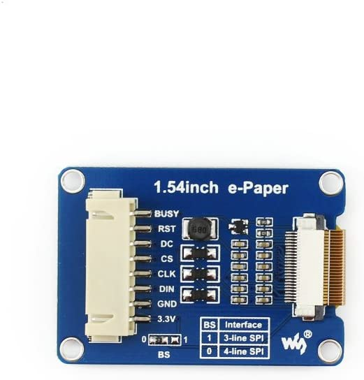 800x600 Resolution Black White Two-Color with IT8951 Controller USB//SPI//I80//I2C Interface Waveshare 6inch E-Ink Display HAT for Raspberry Pi Zero//Zero W//Zero WH//2B//3B//3B