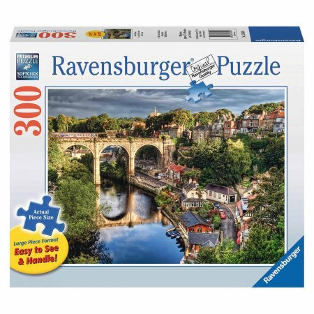 Price comparison product image Over the River Large Format Puzzle 300 Pieces
