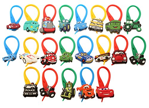 AVIRGO 21 Pcs Shower Curtain Ring # 26 - (Race Use Coupe)