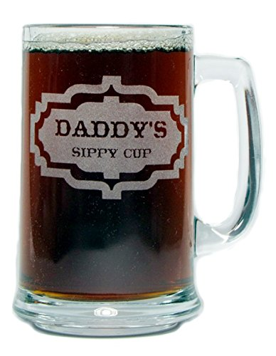 Daddys Sippy 15oz Beer Handle