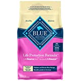Blue Buffalo Life Protection Formula Small Breed Dog Food Natural Dry Dog Food for Adult Dog Chicken and Brown Rice 6 lb. Bag