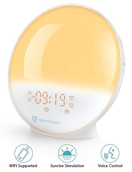 08b0f069516 Amazon.com  HeimVision Sunrise Alarm Clock