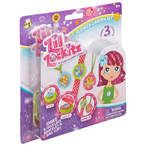 Lil Lockitz Flower Garden Set (Lil Lockitz Best Friend Party Pack)