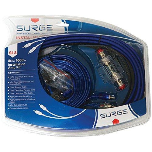 Surge Installer Series Amp Installation Kit (8 Gauge, 1,000 Watts)