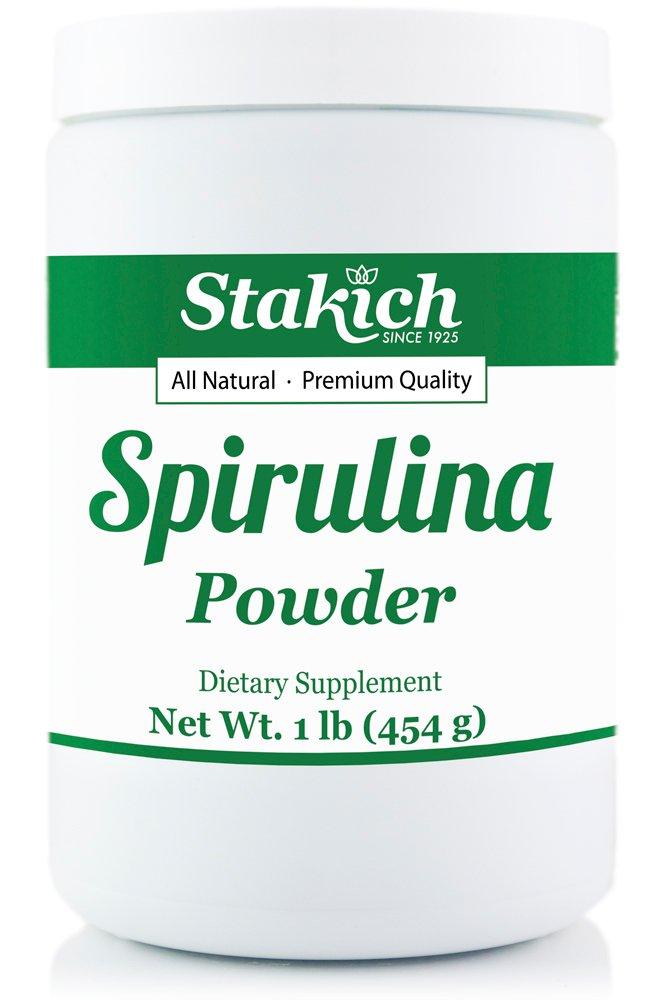 SPIRULINA POWDER 10 LB (in ten 1 lb jars)