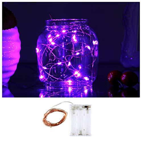 Purple Fairy Lights Led in US - 3