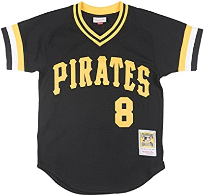 detailed look 681e4 7b1ab Amazon.com : Willie Stargell Pittsburgh Pirates #8 Mitchell ...