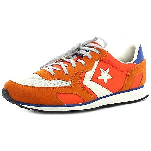 Converse - Zapatillas de Piel para hombre naranja Arancione * Arancio