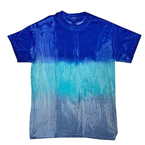 Youth Tie Dye - Colortone Tie Dye T Kids 14-16 (LG) Blue Sky