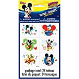 Unique 59865 Disney Mickey Roadster Color Tattoo Sheets, 4 Count