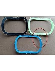 2Pcs Rubber Dam Sheets Frame Light Foldable X-Ray Film Dental Hager Style Blue Green Black 134℃ (Blue+green)