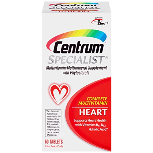 Centrum-Specialist-Heart-60-Count-Complete-Multivitamin-Multimineral-Supplement-with-Phytosterols-Tablet-Vitamin-D3-and-Vitamin-B