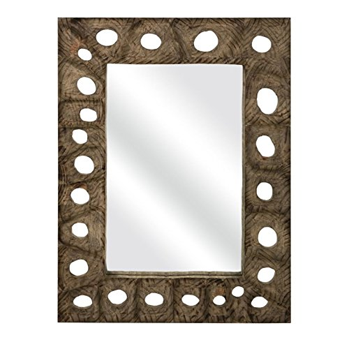 IMAX 75041 Aiden Carved Wood (Carved Wood Frame Mirror)