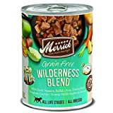 Merrick Grain Free Wilderness Blend Canned Dog Foo...