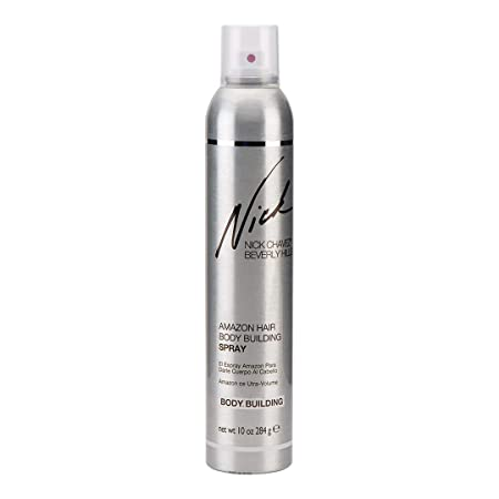 Nick Chavez Beverly Hills Premium Amazon Hair Body Building Mist – Styling, Texture, and Volumizing Hair Spray – 10oz