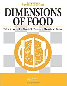 Book Dimensions of Food, Seventh Edition