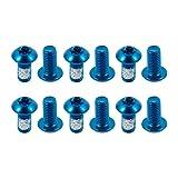 Choose Blue Bike M5 10mm Disc Brake Rotor Bolts