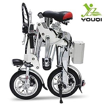 Bing SUPER rápido y fresco bicicleta eléctrica plegable (16 kg), cm 30,