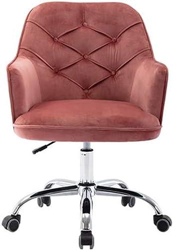 Shamdon Home Collection Desk Chair,Plush Velvet Office Chair