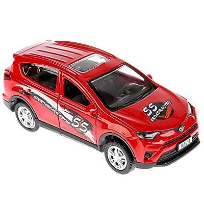 Diecast Metal Model Car Toyota RAV4 Sport Toy Die-cast Cars: Toys & Games