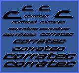 Ecoshirt 96-Y6MG-63LR Stickers Corratec Dr1023
