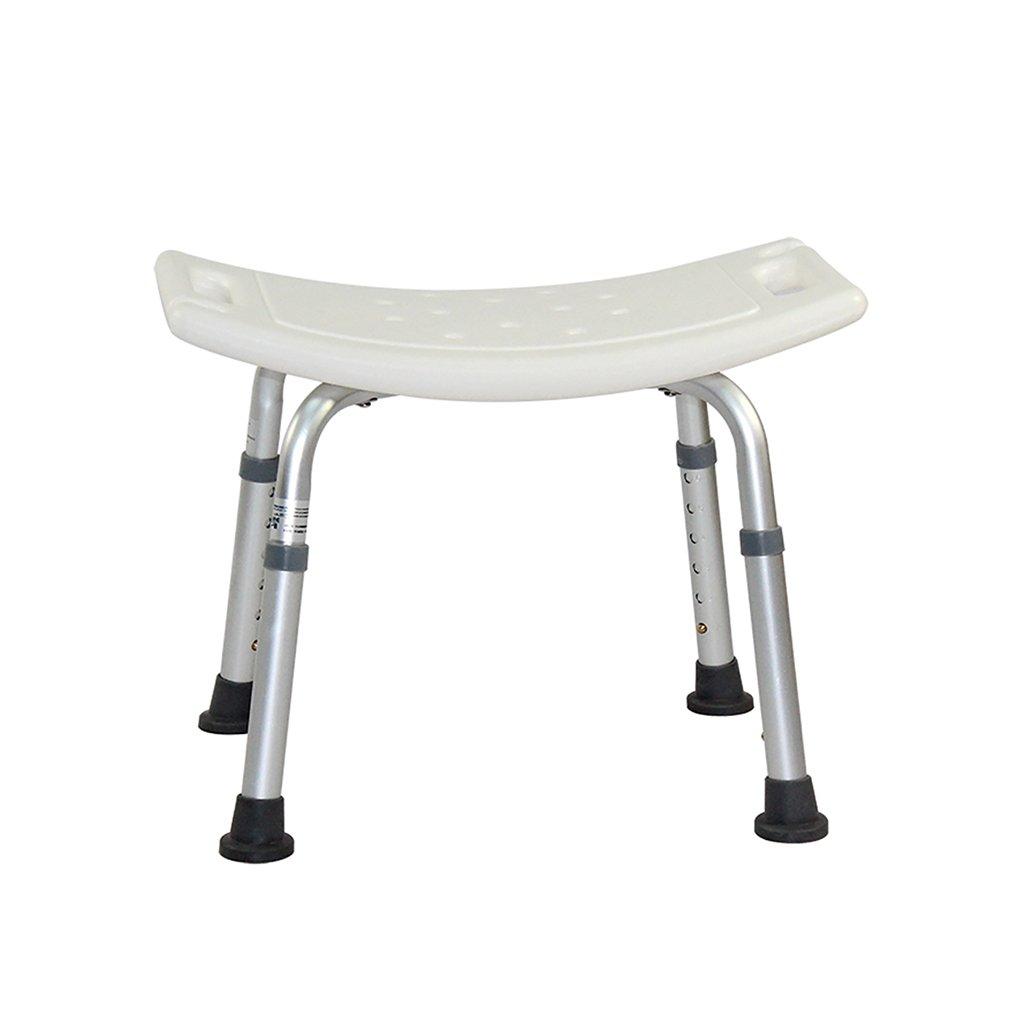 XUEPING オールドマンシャワーの椅子バスルームのスツールノンスリップ高齢者の障害シャワー椅子バスシャワーの椅子妊娠中の女性8ファイル収納式バススツール   B07D8VSC6Z