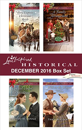 book cover of Harlequin Love Inspired Historical December 2016 Box Set