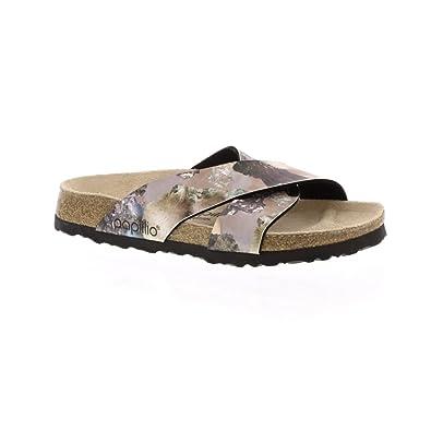 Birkenstock Daytona Narrow Fit - Crystal Lilac 1009827 (Man-Made) Womens Sandals