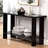 247SHOPATHOME IDF-4559S, Sofa Table, Espresso For Sale