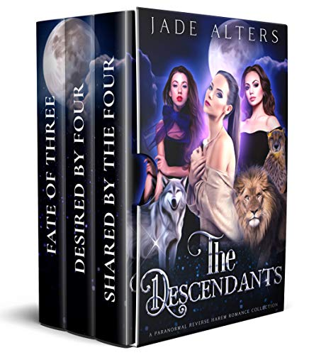 The Descendants Box Set: A Reverse Harem Paranormal Collection