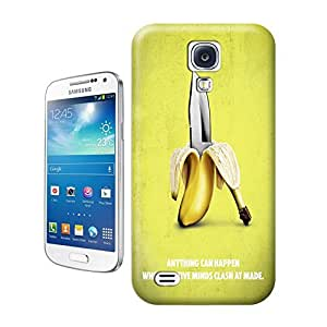 Unique Phone Case Banana-01 Hard Cover for samsung galaxy s4 cases-buythecase by lolosakes by lolosakes