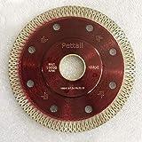Pettall 4 Inch Super Thin Diamond Saw Blade for Cutting Porcelain...